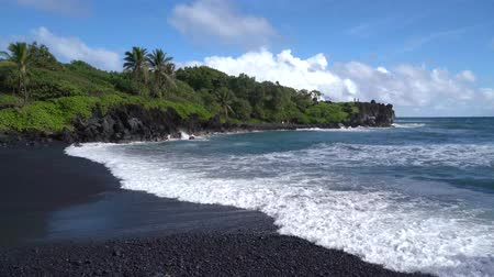 pacific islands : Beach Scene in Maui Hawaii