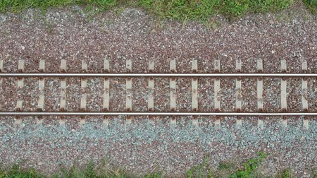 narożnik : track of Train from the top corner