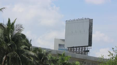 rama obrazu : Time lapse billboard straight on view ready for your information.