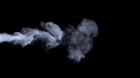 никотин : computer rendered illustration of blue smoke haze