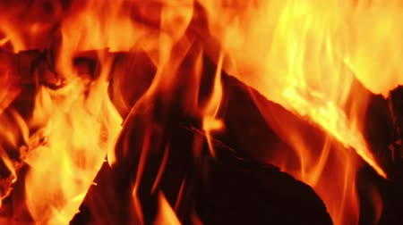 fornalha : Fire burning in furnace