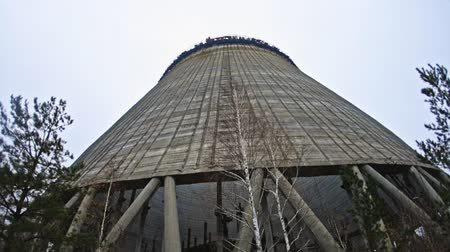 radioaktivní : Cooling Tower of Reactor Number 5 at Chernobyl Nuclear Power Plant, 2019 Dostupné videozáznamy