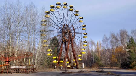 radyoaktif : Ferris wheel of Pripyat ghost town 2019 outdoors
