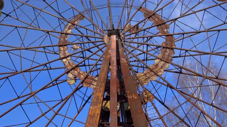 radyoaktif : Ferris wheel of Pripyat ghost town 2019