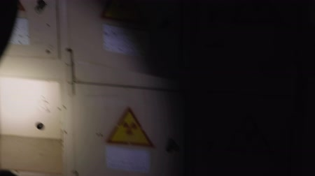 ionizing : Nuclear waste containers in Chernobyl