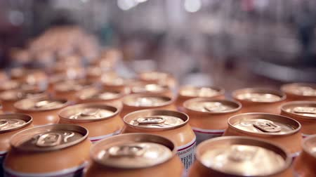 green soda can : Soda cans production line on Pop and Soda, carbonated drink, factory.