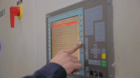 energetyka : Control cabinets, displays at an electrical substation at power plant, factory.