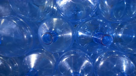 unfilled : Close up view of large bottle openings.