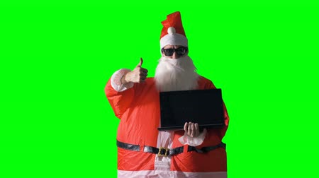 satire : Santa Claus wants you to buy a laptop.