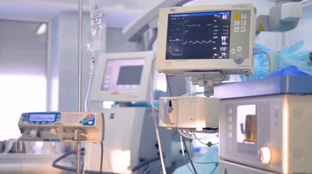 vital signs : Working equipment for patients vital signs monitoring.