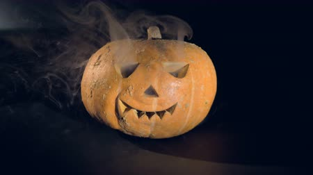 frightful : Happy halloween pumpkin concept.