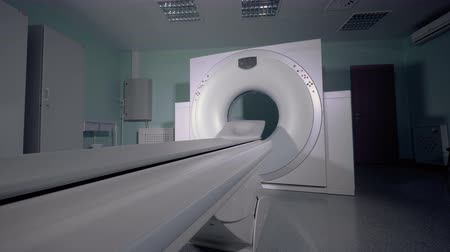 カラット : Modern tomographic equipment. An empty MRI, CT, PET scanner.