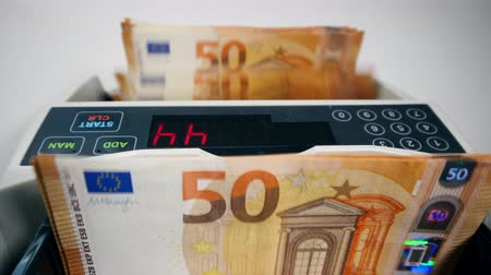 cinquantenne : Automatic counting of fifty-euro bills