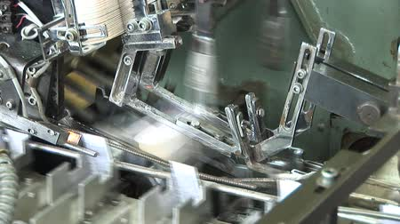 steril : Automated production of medicines. Packaging of drug Stok Video