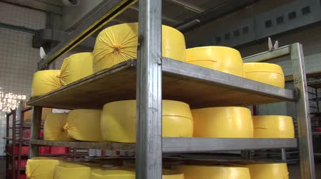 freska : Plant for the production of cheese. cheese packaging