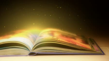 ayrıntılar : The magic book. Book with magical stories. magic book