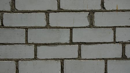 zeď : old brick wall