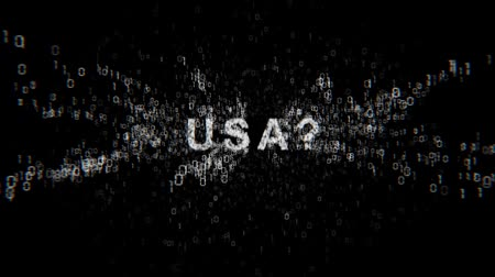 secret service : United States of America and cyberespionage Stock Footage