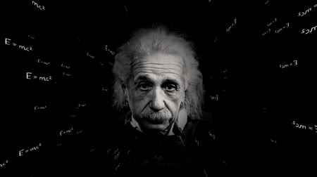 vzorec : Theory of relativity. Einsteins formula