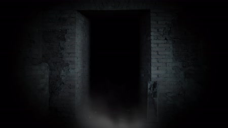 жестокий : Ghost girl in doorway. A terrible ghost.