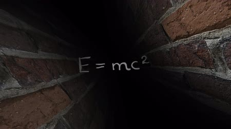 físico : Theory of relativity Einstein. Dark maze. 40