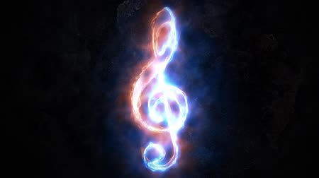 sepya : Treble clef. The concept of sound.