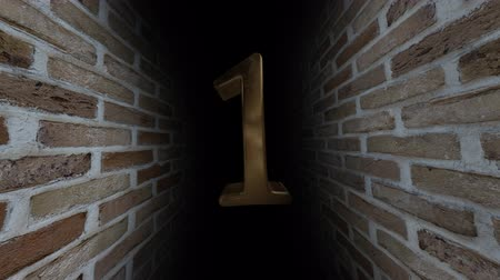 soon : Countdown to the event. The numbers are in order of turn. Mysterious account. Number 1