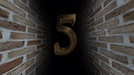 soon : Countdown to the event. The numbers are in order of turn. Mysterious account. Number 5