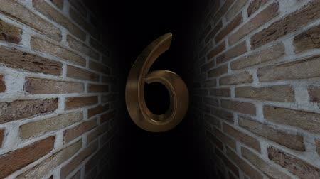 soon : Countdown to the event. The numbers are in order of turn. Mysterious account. Number 6