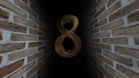 soon : Countdown to the event. The numbers are in order of turn. Mysterious account. Number 8