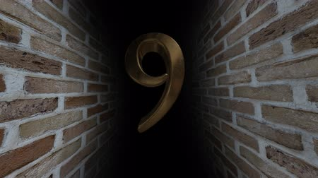 mutató : Countdown to the event. The numbers are in order of turn. Mysterious account. Number 9