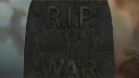 genocide : War tragedy murder death. Violence war depression. Stock Footage