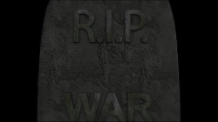 farpa : War tragedy murder death. Violence war depression. Stock Footage