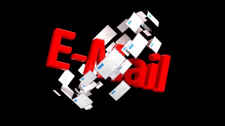 hírlevél : Lots of emails. Mail delivery. Important mail