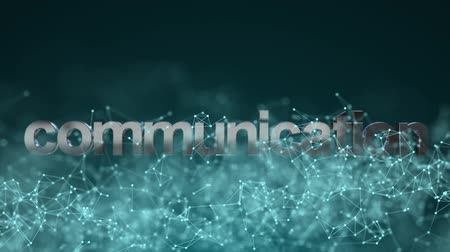 within : Technological background. Internet connection. Communication within the global network.