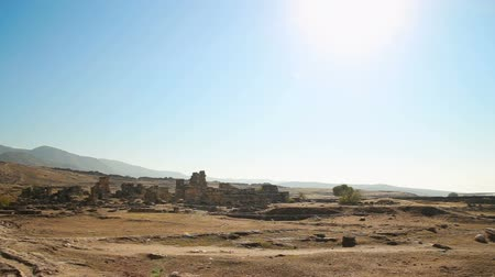 arkeolojik : Panoramic view of the ruins of the ancient city