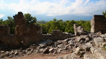 arkeolojik : The ruins of the ancient Greek and Roman city