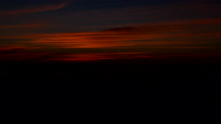 cockcrow : Red morning sky before dawn, time-lapse, sky before sunrise, morning