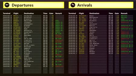 departure : Airport security alert, all get flights cancelled. Bad weather, natural disaster