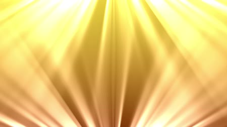rendered : Light rays shine from the top and bottom of the screen over a yellow background