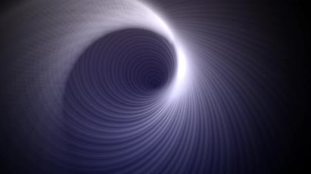 A circle vortex continuously spins towards the screen Wideo