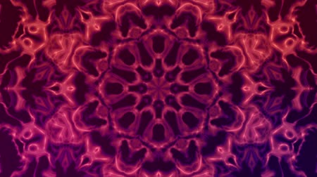 A moving kaleidoscope of flower patterns. Looping
