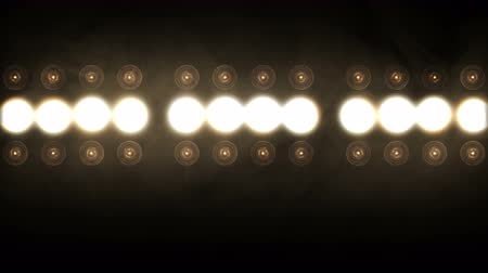 reflektor : Stage lights. Close-up. Floodlight Lights Flashing Wall .
