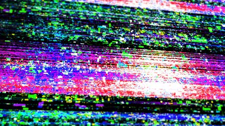 elferdítés : Damage to the video signal noise, glitch.