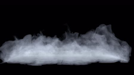 Atmospheric mystical floating fog, realistic cloud of smoke, rising steam. VFX Element.