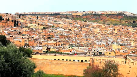 marrocos : View of fez in morocco
