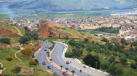 marrocos :  Viewpoint at fez in morocco