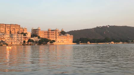 pichola : Palace at Udaipur in the evening, Rajasthan, India