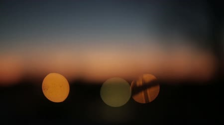şafak : bokeh background at sunrise