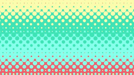 kunst : Abstract background Seamless Loop Kreisfliesenmuster mit Pastel Color Style. Videos